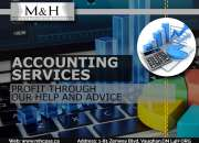 At M&H, We Provide The Best Accounting And Taxation Services At Affordable Rates.