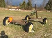Steel wagon frame for sale