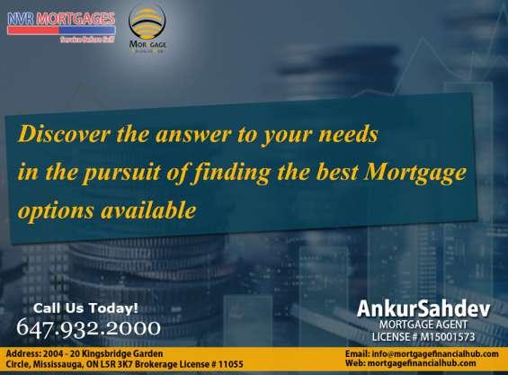 Mortgage financial hub