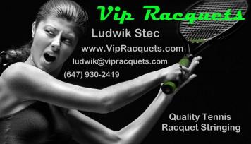 Tennis racquet stringing
