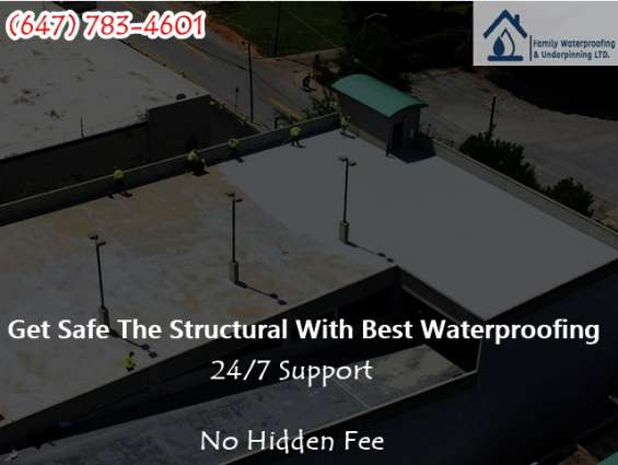 Waterproofing services in mississauga