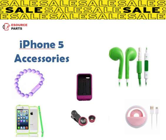 Genuine quality iphone 5 accessories - esource parts