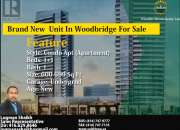 Brand New Unit In Woodbridge For Sale