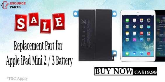 High capacity ipad mini 2/3 battery replacement